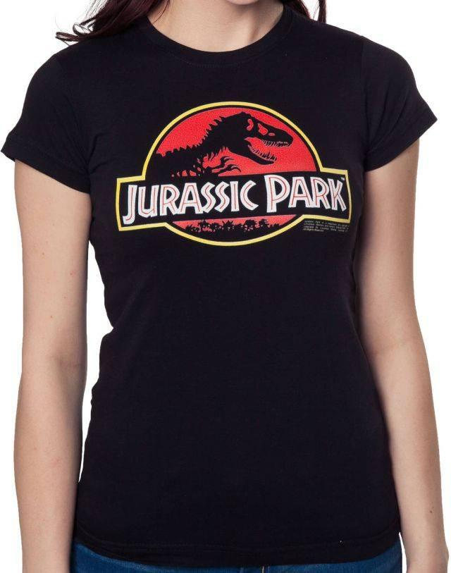 Ladies Jurassic Park Logo