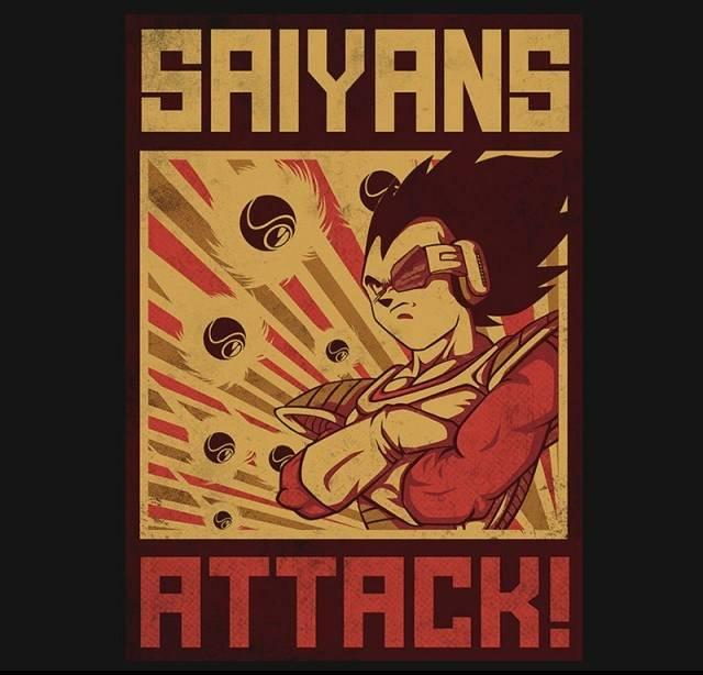 Saiyans Attack!