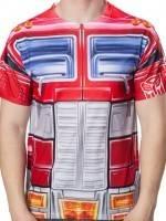 Sublimation Optimus Prime Costume T-Shirt