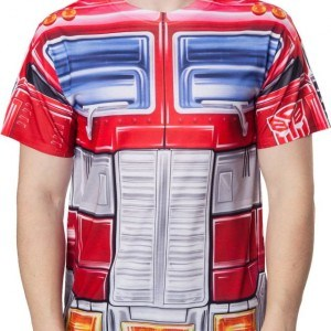 Sublimation Optimus Prime Costume