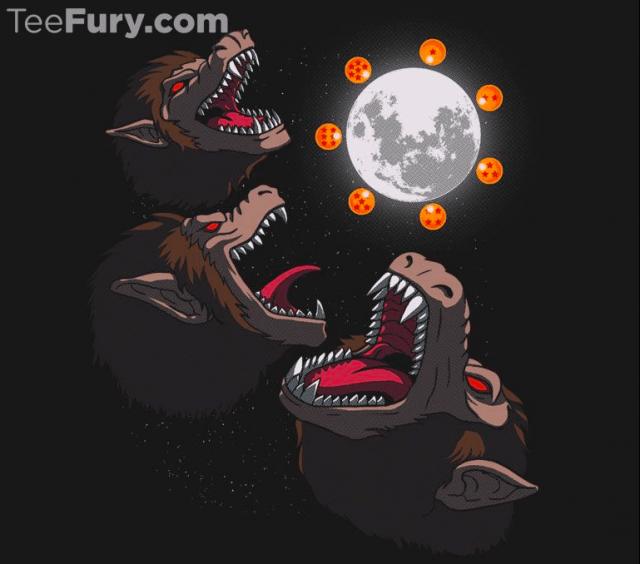 Three Oozaru Moon