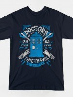 DOCTOR'S TIME TRAVEL CLUB T-Shirt
