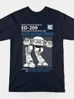ED 209 Service and Repair Manual T-Shirt
