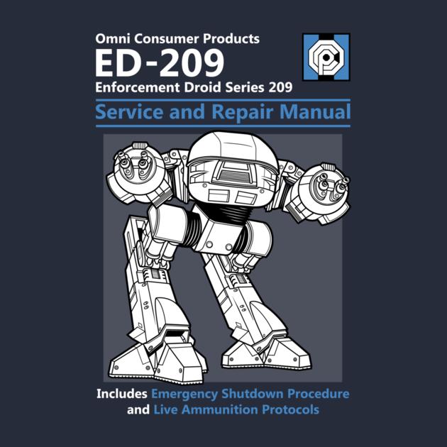 ED 209 Service and Repair Manual