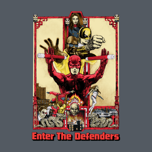 ENTER THE DEFENDERS