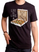 Life Is Like A Box Of Pizza T-Shirt