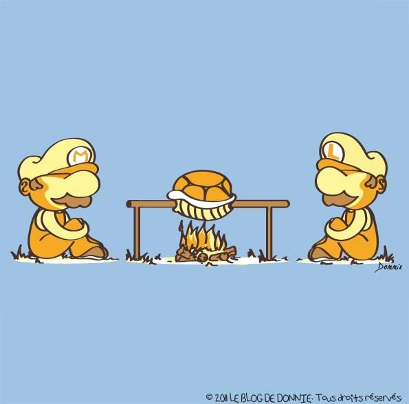 Mario and Luigi BBQ