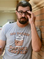 No Talkie Before Coffee! T-Shirt
