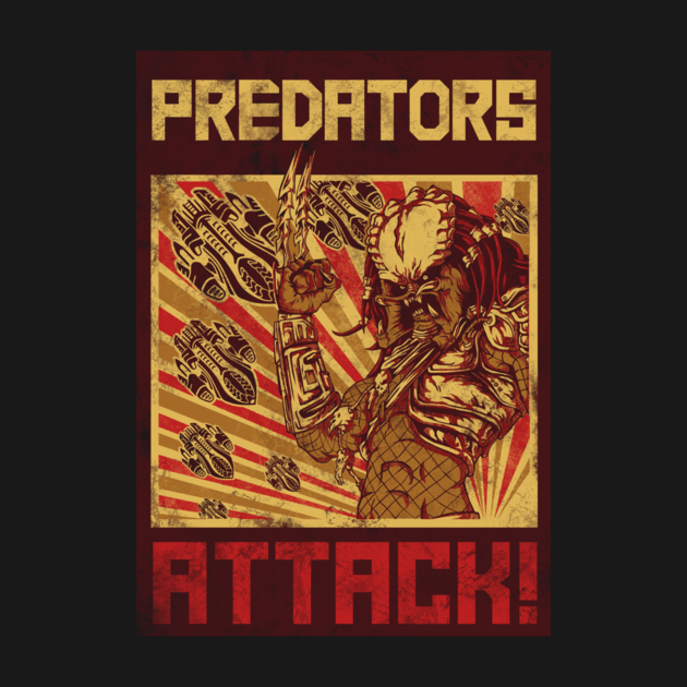 PREDATORS ATTACK!