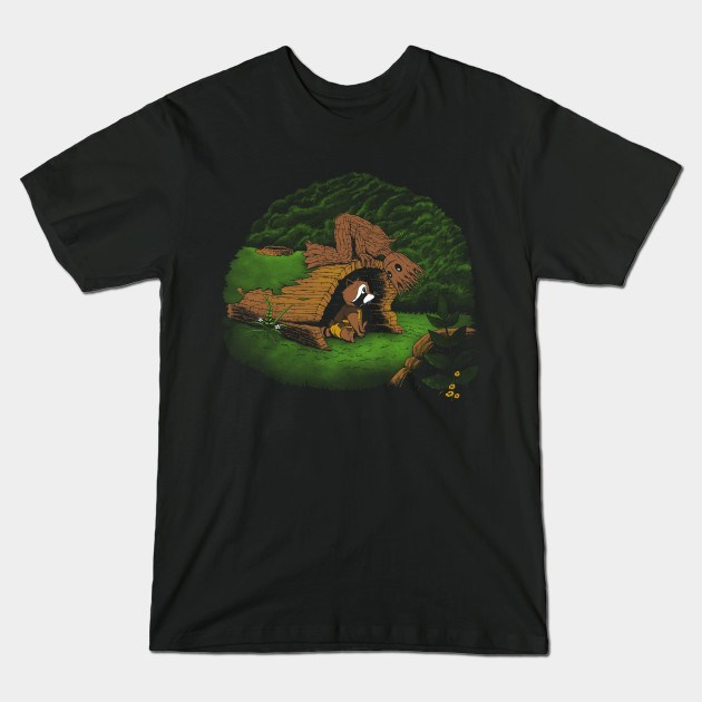 THE TREE AND THE RACCOON