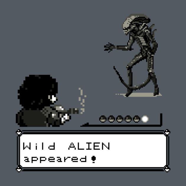 WILD ALIEN APPEARED!