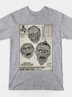 ZOMBIE COMBAT TRAINING T-Shirt