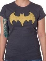 Batgirl Distressed Logo T-Shirt