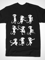 MINISTRY OF ALIEN SILLY WALKS T-Shirt