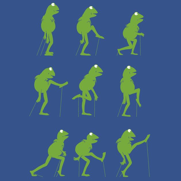 MINISTRY OF SILLY MUPPET WALKS
