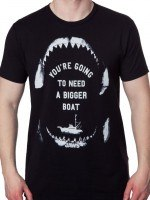 Need A Bigger Boat Jaws T-Shirt