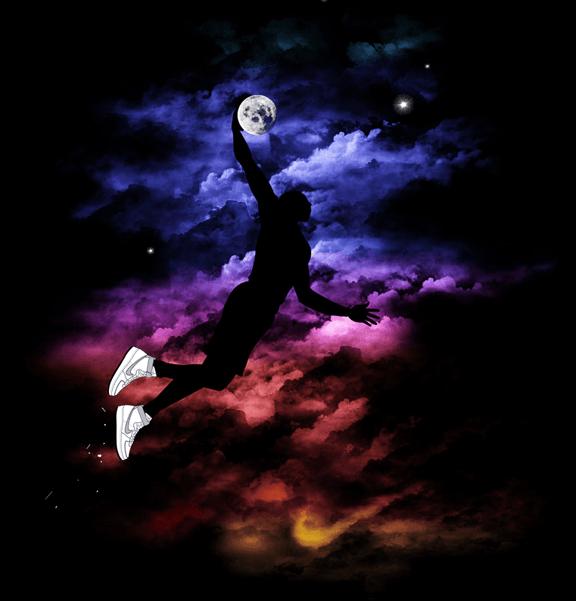 Nike Slam Dunk in the Air