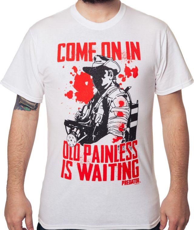 Old Painless Is Waiting Predator