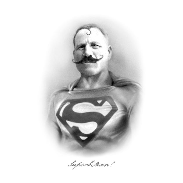 SUPERB MAN! VINTAGE SUPERHERO