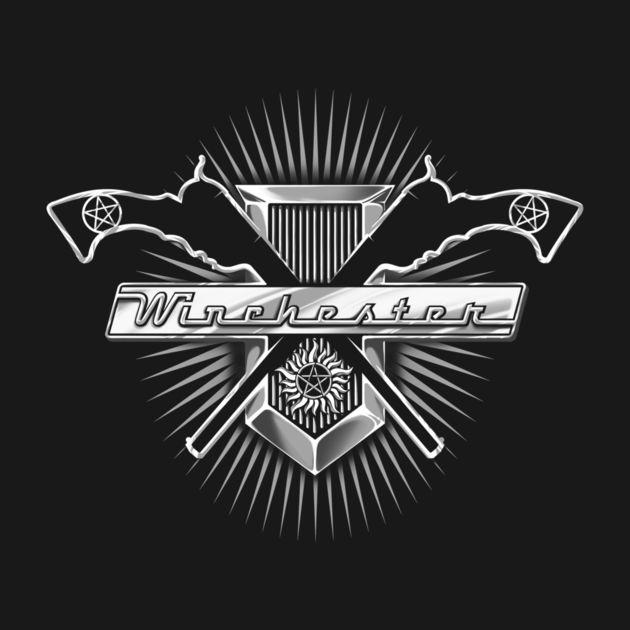 SUPERNATURAL WINCHESTER IMPALA CAR BADGE