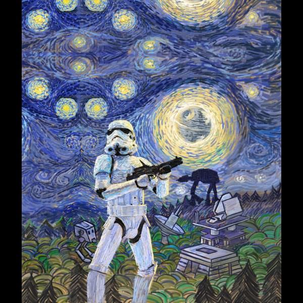 Stormtrooper Starry Night