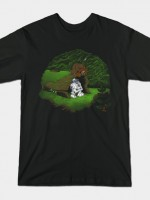 The Furball and the Droid T-Shirt