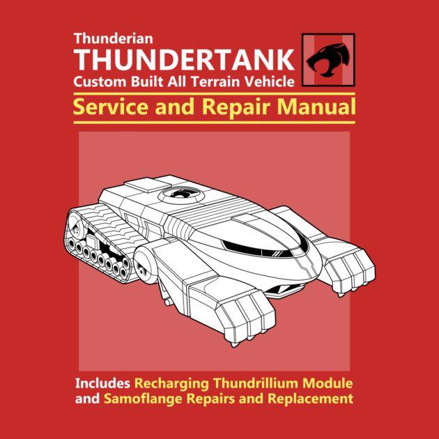 THUNDERTANK SERVICE AND REPAIR MANUAL