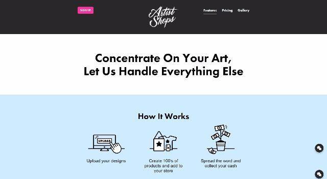 Threadless Artist Shops