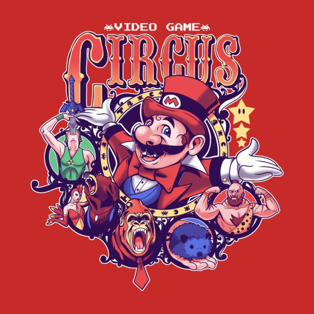 VIDEO GAME CIRCUS
