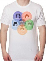 Venn Diagram Breakfast Club T-Shirt