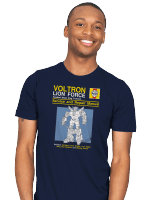 Lion Force Service and Repair Manual T-Shirt
