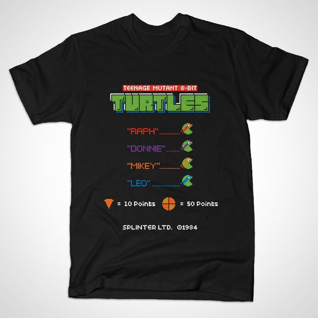 TEENAGE MUTANT 8-BIT TURTLES