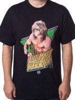Flexing Ultimate Warrior T-Shirt