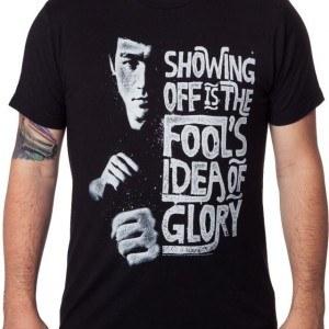Fools Idea Of Glory Bruce Lee