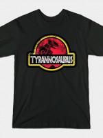 Jurassic Red Power T-Shirt