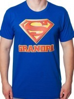 Superman Grandpa T-Shirt