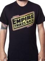 The Empire Strikes Back Logo T-Shirt