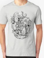 Nightmare in Black and White T-Shirt
