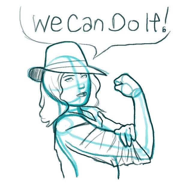 Agent Carter Sketch