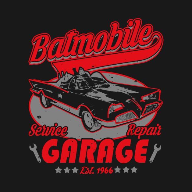 BATMOBILE GARAGE