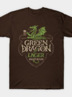 Green Dragon Lager T-Shirt