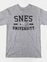 SNES UNIVERSITY T-Shirt
