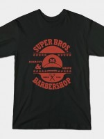 SUPER BROS. BARBERSHOP T-Shirt