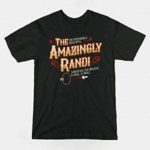 THE AMAZINGLY RANDI