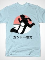 TRAVELLING THROUGH KANTO T-Shirt