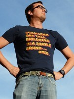 Tall Buildings In A Single Bound T-Shirt