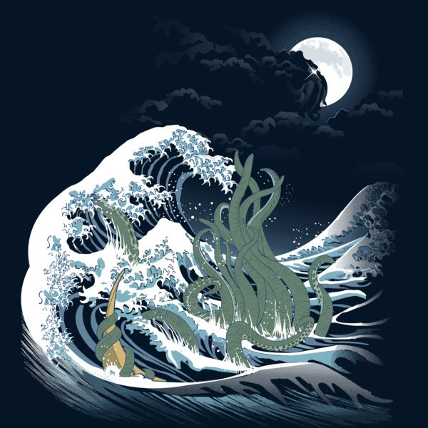 The Wave of R'lyeh