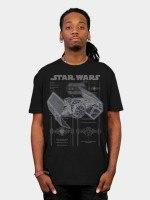 Darth Vaders Tie Fighter T-Shirt