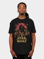 Force Awakens Poster T-Shirt