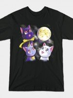 Three Moon Cats T-Shirt